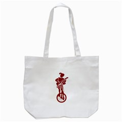 Minstrel Cycle Tote Bag (white) by derpfudge