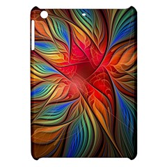 Vintage Colors Flower Petals Spiral Abstract Apple Ipad Mini Hardshell Case by BangZart