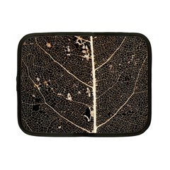 Vein Skeleton Of Leaf Netbook Case (small)  by BangZart