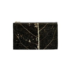 Vein Skeleton Of Leaf Cosmetic Bag (small)  by BangZart