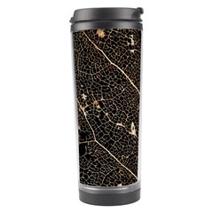 Vein Skeleton Of Leaf Travel Tumbler by BangZart