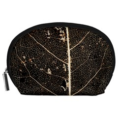 Vein Skeleton Of Leaf Accessory Pouches (large)  by BangZart