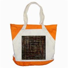 Unique Pattern Accent Tote Bag by BangZart