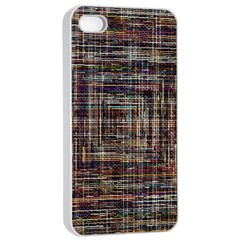 Unique Pattern Apple Iphone 4/4s Seamless Case (white)