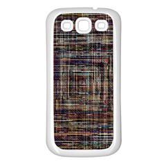 Unique Pattern Samsung Galaxy S3 Back Case (white) by BangZart