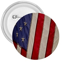 Usa Flag 3  Buttons by BangZart