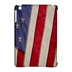Usa Flag Apple Ipad Mini Hardshell Case (compatible With Smart Cover) by BangZart