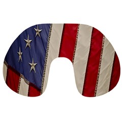 Usa Flag Travel Neck Pillows by BangZart