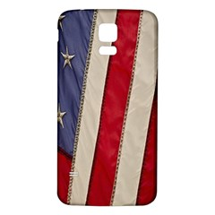 Usa Flag Samsung Galaxy S5 Back Case (white) by BangZart