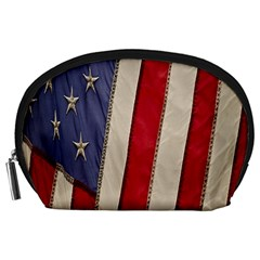 Usa Flag Accessory Pouches (large)