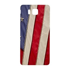 Usa Flag Samsung Galaxy Alpha Hardshell Back Case by BangZart