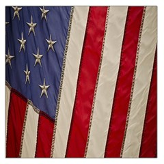 Usa Flag Large Satin Scarf (square) by BangZart