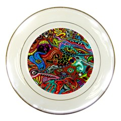 Vector Art Pattern Porcelain Plates by BangZart