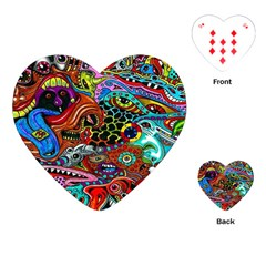 Vector Art Pattern Playing Cards (heart)  by BangZart