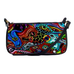 Vector Art Pattern Shoulder Clutch Bags by BangZart