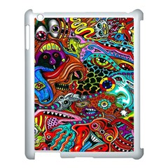 Vector Art Pattern Apple Ipad 3/4 Case (white) by BangZart
