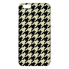Houndstooth2 Black Marble & Beige Linen Iphone 6 Plus/6s Plus Tpu Case by trendistuff