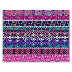 Tribal Seamless Aztec Pattern Rectangular Jigsaw Puzzl by BangZart