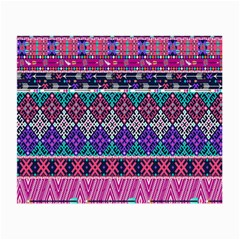 Tribal Seamless Aztec Pattern Small Glasses Cloth