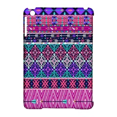 Tribal Seamless Aztec Pattern Apple Ipad Mini Hardshell Case (compatible With Smart Cover) by BangZart