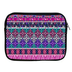 Tribal Seamless Aztec Pattern Apple Ipad 2/3/4 Zipper Cases