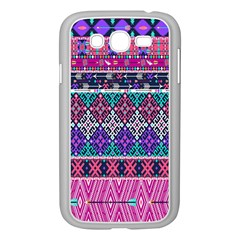 Tribal Seamless Aztec Pattern Samsung Galaxy Grand Duos I9082 Case (white) by BangZart