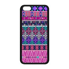 Tribal Seamless Aztec Pattern Apple Iphone 5c Seamless Case (black) by BangZart
