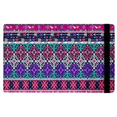 Tribal Seamless Aztec Pattern Apple Ipad Pro 9 7   Flip Case