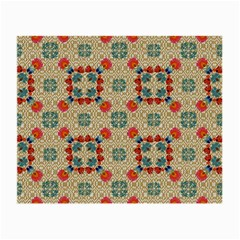 Traditional Scandinavian Pattern Small Glasses Cloth