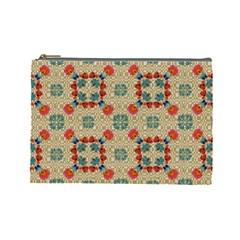 Traditional Scandinavian Pattern Cosmetic Bag (large)  by BangZart