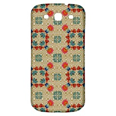 Traditional Scandinavian Pattern Samsung Galaxy S3 S Iii Classic Hardshell Back Case by BangZart