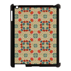 Traditional Scandinavian Pattern Apple Ipad 3/4 Case (black) by BangZart