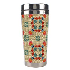 Traditional Scandinavian Pattern Stainless Steel Travel Tumblers by BangZart