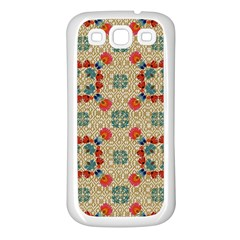 Traditional Scandinavian Pattern Samsung Galaxy S3 Back Case (white) by BangZart