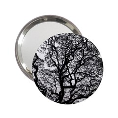Tree Fractal 2 25  Handbag Mirrors