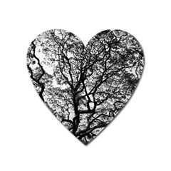 Tree Fractal Heart Magnet by BangZart