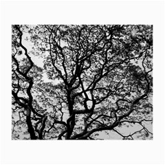 Tree Fractal Small Glasses Cloth