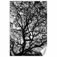 Tree Fractal Canvas 20  X 30   by BangZart