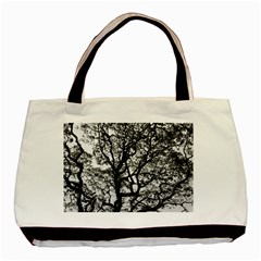 Tree Fractal Basic Tote Bag (two Sides) by BangZart