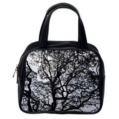 Tree Fractal Classic Handbags (one Side) by BangZart