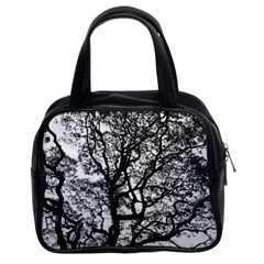 Tree Fractal Classic Handbags (2 Sides) by BangZart