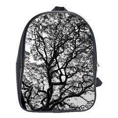 Tree Fractal School Bags(large)  by BangZart