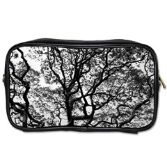 Tree Fractal Toiletries Bags 2 Side by BangZart
