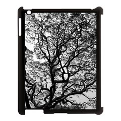 Tree Fractal Apple Ipad 3/4 Case (black) by BangZart