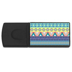 Tribal Print Rectangular Usb Flash Drive by BangZart