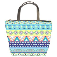 Tribal Print Bucket Bags