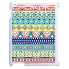 Tribal Print Apple Ipad 2 Case (white) by BangZart