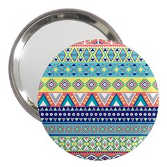 Tribal Print 3  Handbag Mirrors