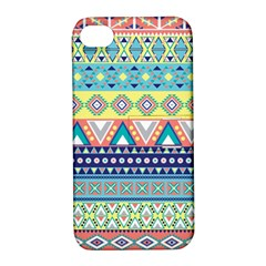 Tribal Print Apple Iphone 4/4s Hardshell Case With Stand by BangZart