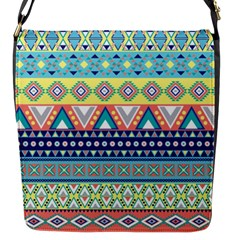 Tribal Print Flap Messenger Bag (s) by BangZart